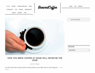 brewed-coffee.com screenshot