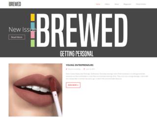 brewed.nl screenshot