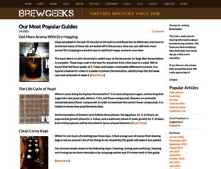 brewgeeks.com screenshot