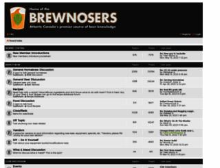 brewnosers.org screenshot