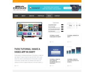 brianjcoleman.com screenshot