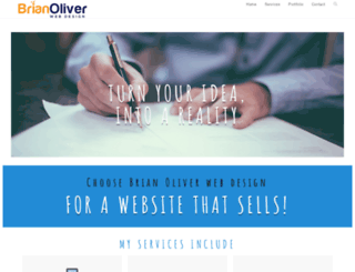 brianoliver.co.uk screenshot