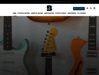 briansguitars.com screenshot