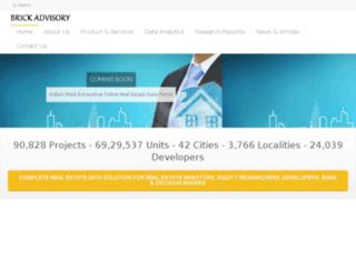 brickadvisory.com screenshot