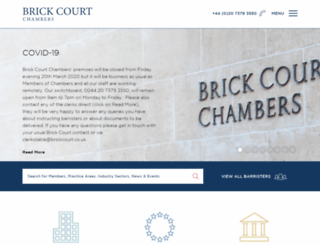 brickcourt.co.uk screenshot