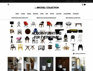 brickellcollection.com screenshot
