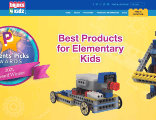 bricks4kidz.com screenshot