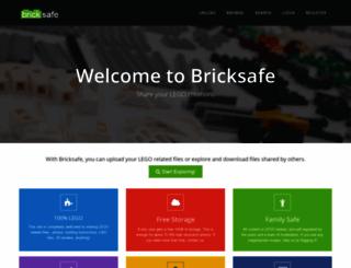 bricksafe.com screenshot