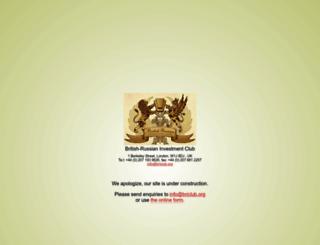 briclub.org screenshot