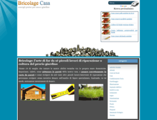 bricolagecasa.it screenshot