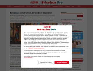 bricoleurpro.com screenshot