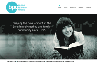 bridalplannergroup.com screenshot