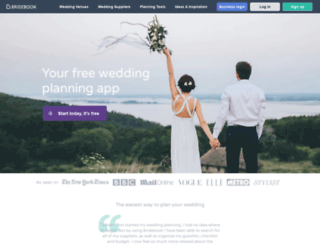bridebook.co.uk screenshot