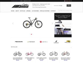 bridgecycles.co.za screenshot