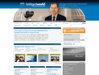 bridgedworld.com screenshot