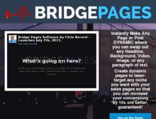 bridgepages.net screenshot