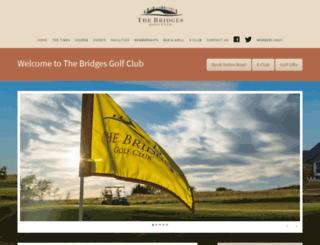 bridgestexasgolf.com screenshot