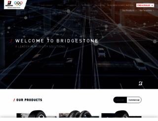 bridgestone.co.uk screenshot