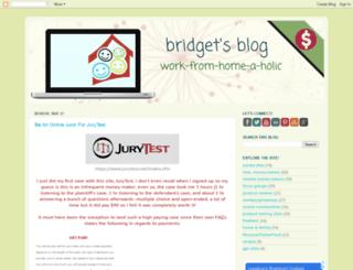 bridgetsblog.net screenshot