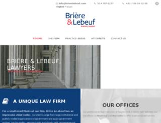 brierelebeuf.com screenshot