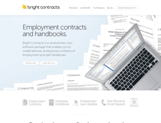 brightcontracts.co.uk screenshot
