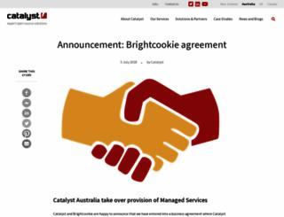 brightcookie.com screenshot