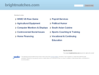 brightmatches.com screenshot
