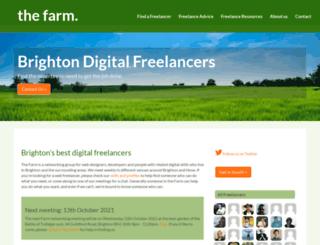 brightonfarm.com screenshot