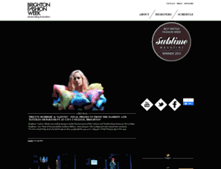 brightonfashionweek.com screenshot