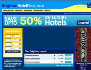 brightonhoteldeals.co.uk screenshot