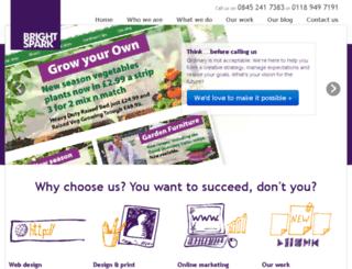 brightspark.co.uk screenshot