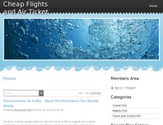 brightsuntravel.webs.com screenshot
