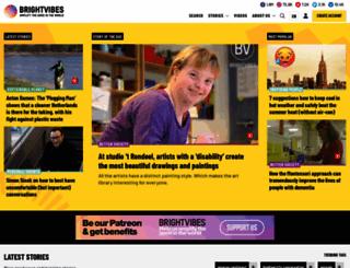 brightvibes.com screenshot