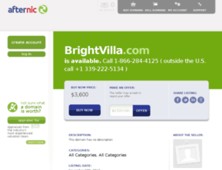 brightvilla.com screenshot