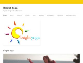 brightyogapdx.com screenshot