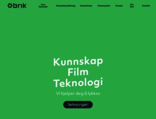 brik.no screenshot