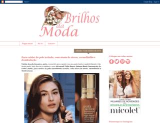brilhos-da-moda.blogspot.pt screenshot