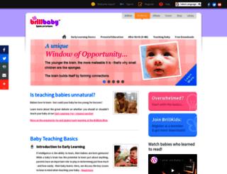 brillbaby.com screenshot