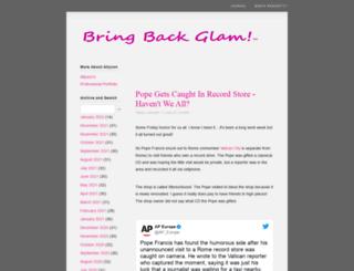 bringbackglam.com screenshot