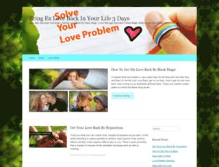 bringexloveback.wordpress.com screenshot