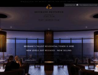 brisbaneskytower.com screenshot