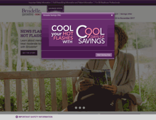 brisdelle.com screenshot