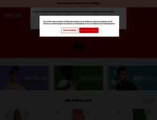 bristol.nl screenshot