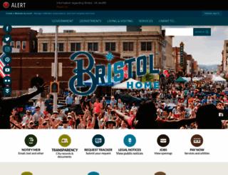bristoltn.org screenshot