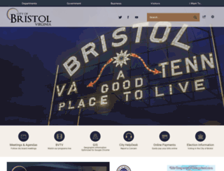 bristolva.org screenshot
