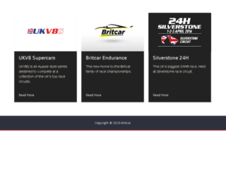 britcar24hr.co.uk screenshot