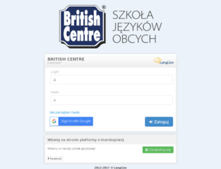 britishcentre.langlion.com screenshot