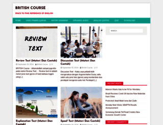 britishcourse.com screenshot
