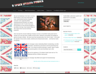 britishfamily.co.uk screenshot