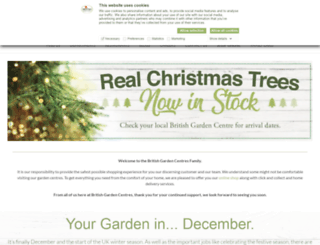 britishgardencentres.com screenshot